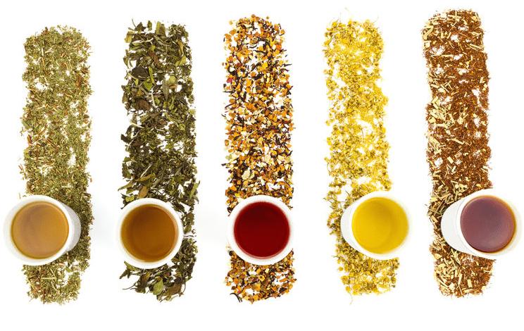 Różne odcienie jednej herbaty