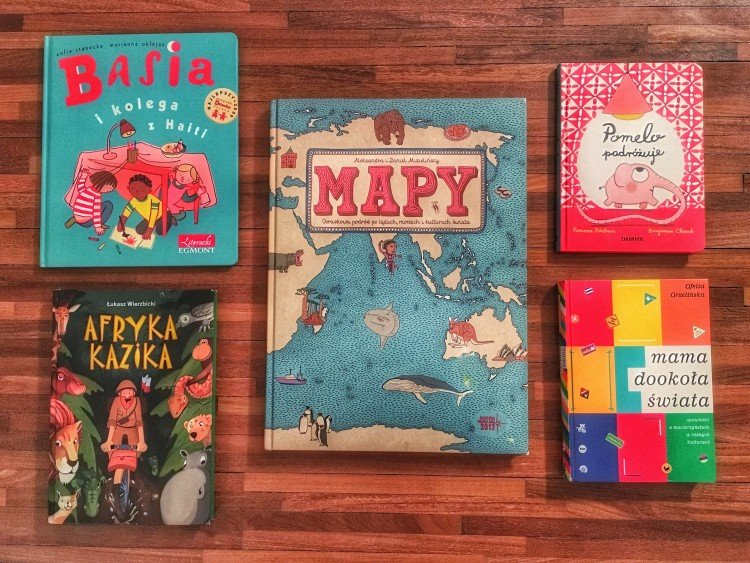 Estera Hess: Książki o podróżach dla mamy i dziecka