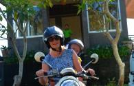 Mały bagaż idealny na podróż skuterem po Bali
