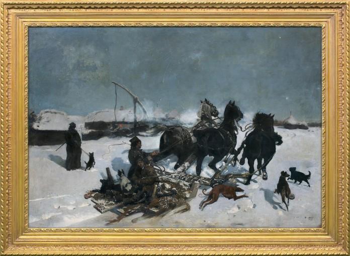 Legendarna Noc księżycowa Chełmońskiego o szacowanej wartości ponad 2 mln zł trafi w grudniu na aukcję w Domu Aukcyjnym Agra-Art w Warszawie