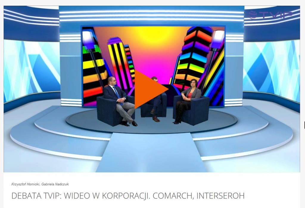 "Debata TVIP ""Wideo w marketingu"""