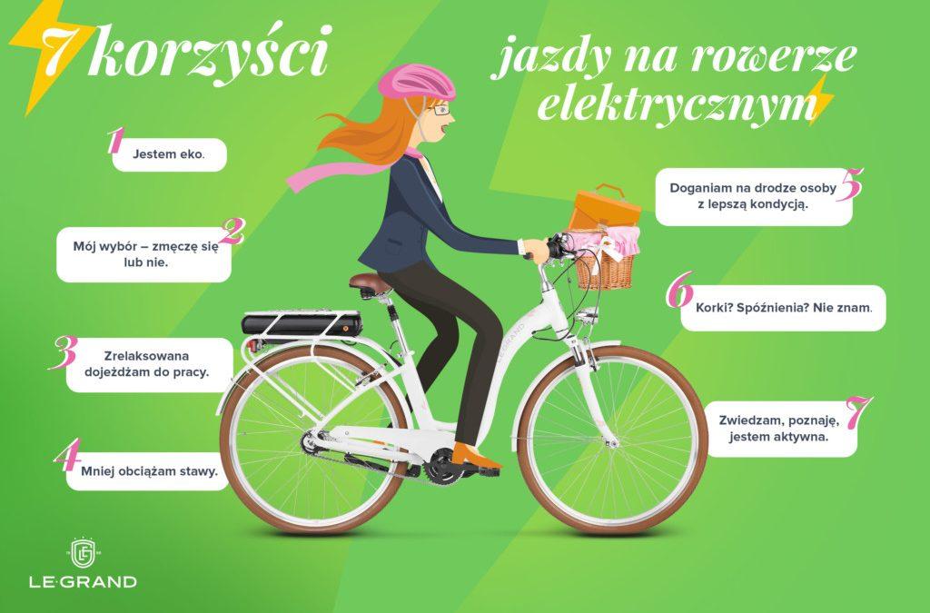 7 korzyści z wyboru roweru elektrycznego