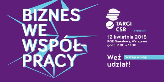 Targi CSR już 12 kwietnia w Warszawie
