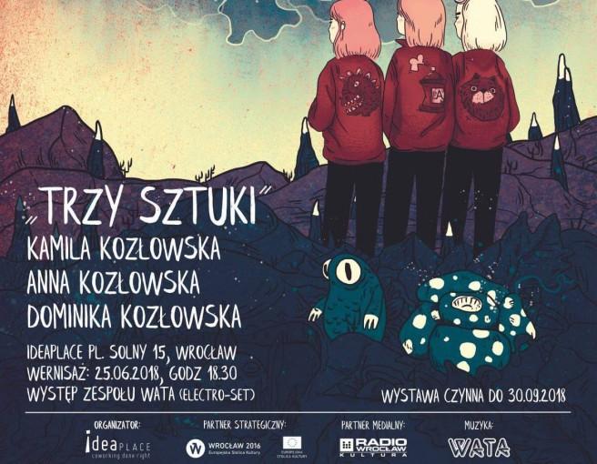 Wrocław: Wystawa TRZY SZTUKI Kozłowskich