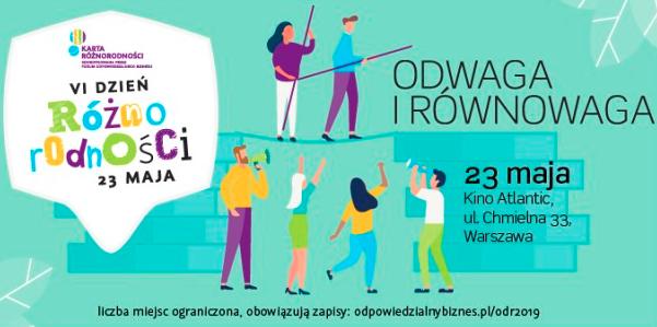 Warszawa: VI Ogólnopolski Dzień Różnorodności