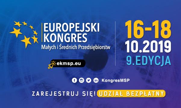 Katowice: 9. Europejski Kongres Małych i Średnich Przedsiębiorstw