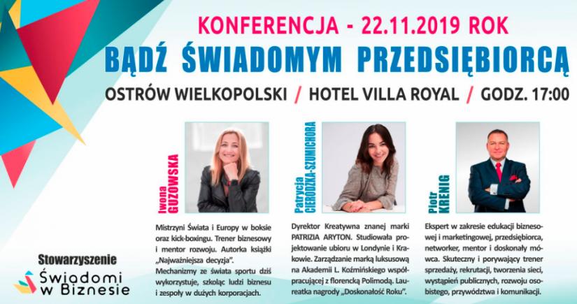 Konferencja Świadomi w Biznesie