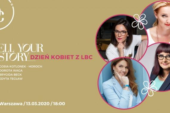 Warszawa: Tell Your Story – Dzień Kobiet z LBC