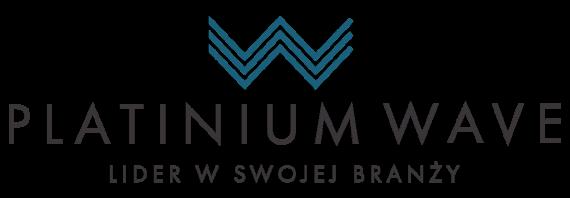 platinum wave logo gotowe