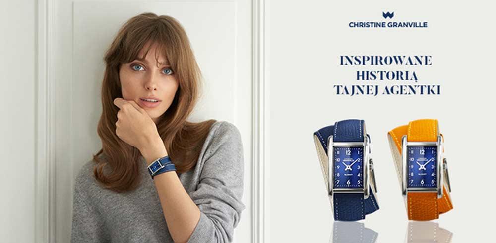 christine granville zegarki