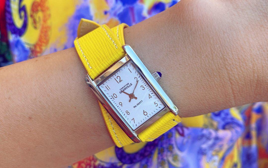 Christine Granville – pierwsze w Polsce zegarki z paskami ze skórek jabłek