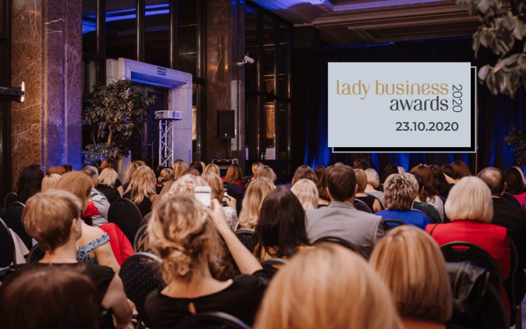 Warszawa: Wieczór Lady Business Awards, 23.10.2020