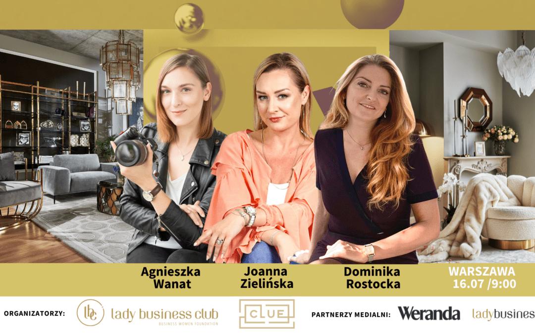 16.07 Warszawa: Otwarte śniadanie biznesowe Lady Business Club